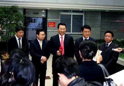 Founder of Sichuan Hanlong Group Liu Han