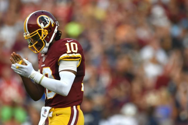 Robert Griffin III won't be playing for the Lumbee.