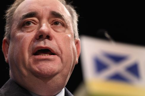 First Minister of Scotland Alex Salmond