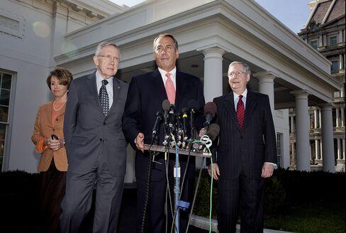 U.S. Leaders Make Rhetorical Room for Compromise Budget Deal