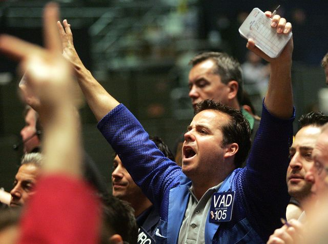 Don't rely on markets to stabilize themselves. Photographer: Tim Boyle/Bloomberg News