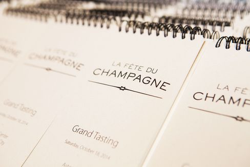 New York's La Fête du Champagne starts on Oct. 26.