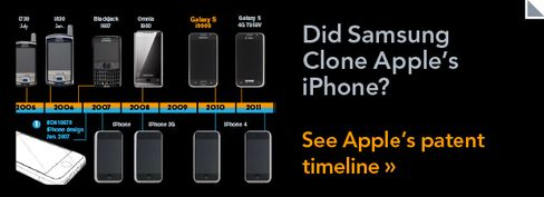 GRAPHIC: Did Samsung Clone the iPhone?