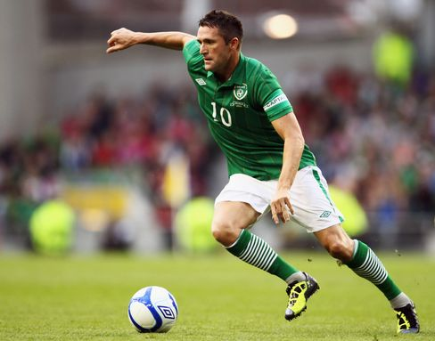 Ireland International Captain Robbie Keane