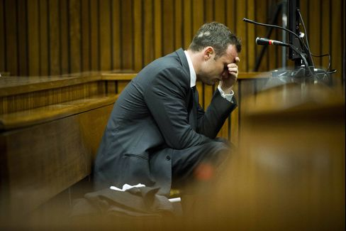 South African Paralympic Athlete Oscar Pistorius
