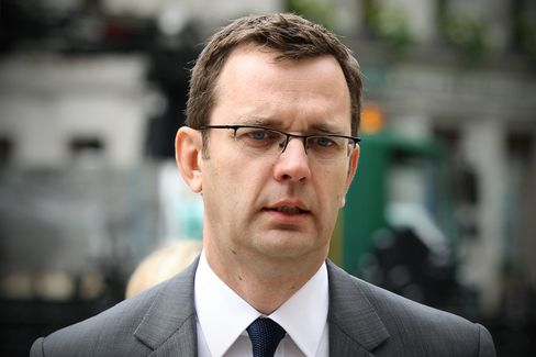 Former Editor of News of the World Andy Coulson