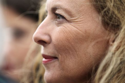 Former French First Lady Valerie Trierweiler