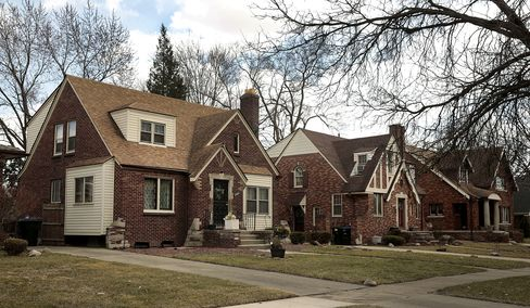 Residential Property Stands in Detroit, Michigan