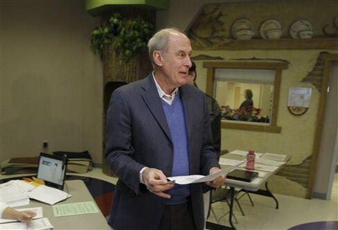 Republican Coats Projected the Winner of Senate Seat