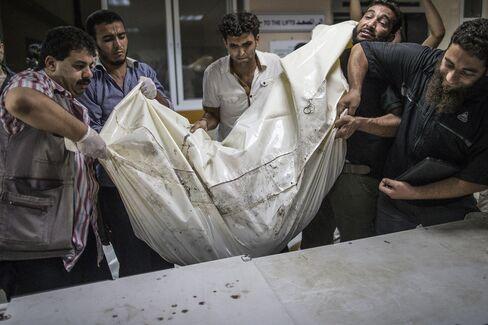 Palestinian Deaths in Gaza