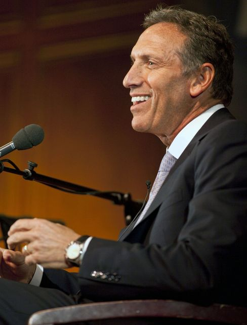 Starbucks Corp. Chief Executive Officer Howard Schultz