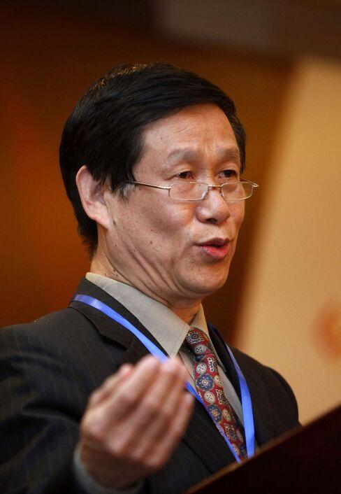Shanghai Gold Exchange chairman Shen Xiangrong