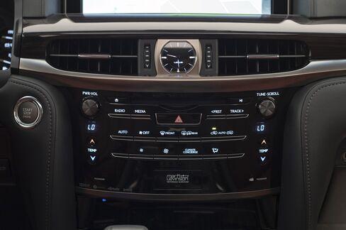 The interior dash.