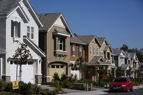 Houses Stand in California