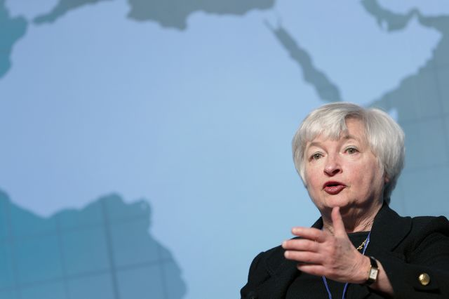 Fed chef Janet Yellen might do Asia a world of good. Photographer: Kiyoshi Ota/Bloomberg