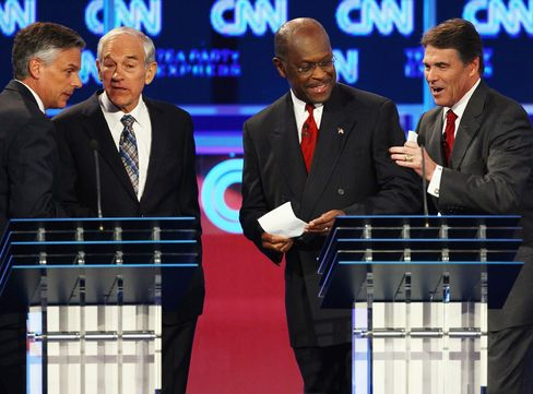 Republicans Candidates Differ on Obama And Economy