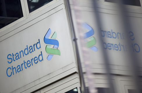 Standard Chartered Falls Most in 24 Years on Potential Iran Cost