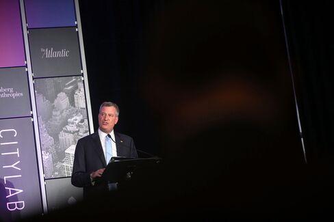 New York Democratic Mayoral Candidate Bill De Blasio