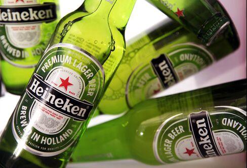 Heineken Sees Stagnant Annual Profit