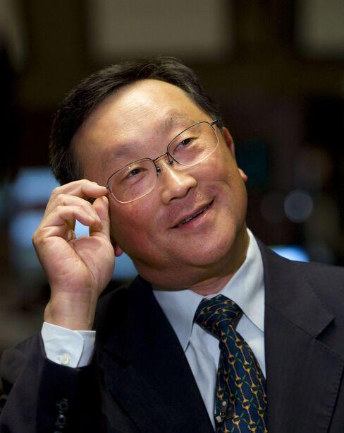 BlackBerry Interim CEO John Chen
