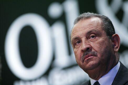 Libya's top oil official Shokri Ghanem