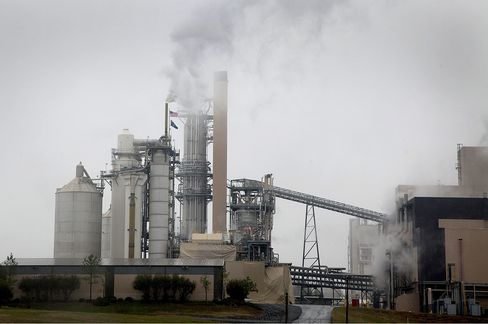The Resolute Forest Products Mill in South Carolina, US