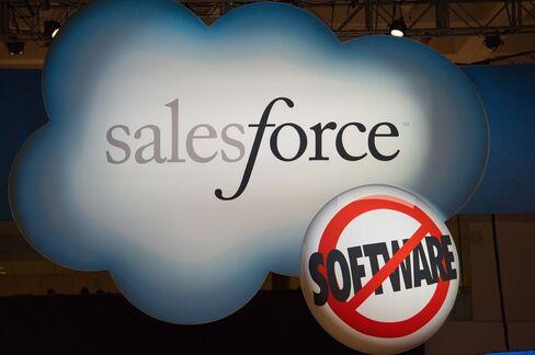 Salesforce.com Profit Forecast Misses Estimate as Rivals Move In