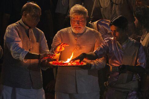 Prime Minister Designate Of India Narendra Modi