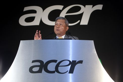 Acer Inc. Chairman and CEO J.T. Wang