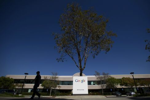 Google's Headquarters in Mountain View, California