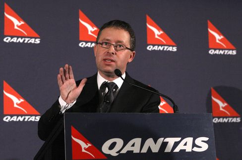 Qantas Airways Ltd. Chief Executive Officer Alan Joyce