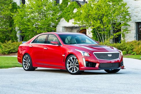 The 2016 CTS-V is the third generation of Cadillac's high-performance sedan.