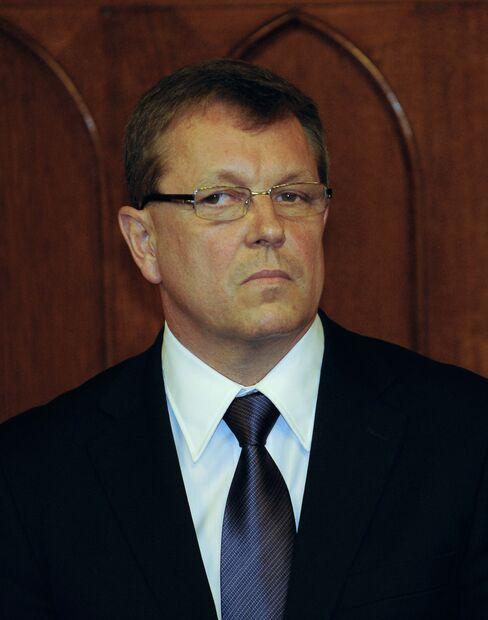 Hungary's Economy Minister Gyorgy Matolcsy