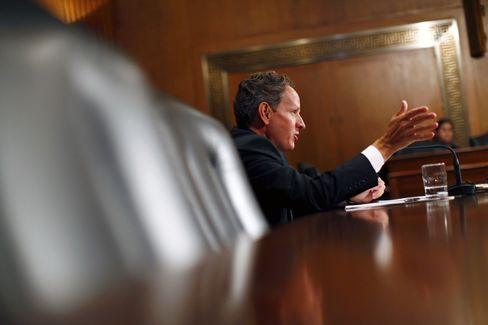Geithner's Money Fund Overhaul Push Sparks New Industry Outcry