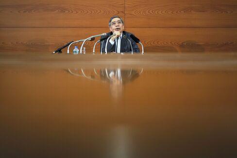 Governor of the Bank of Japan Haruhiko Kuroda,