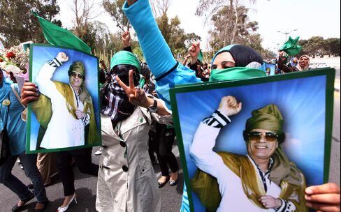 Qaddafi Coddled by U.S. Oil Producers