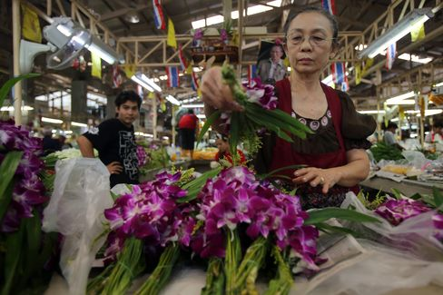 Thai Growth Slows as Scope for Monetary Stimulus Seen Limited