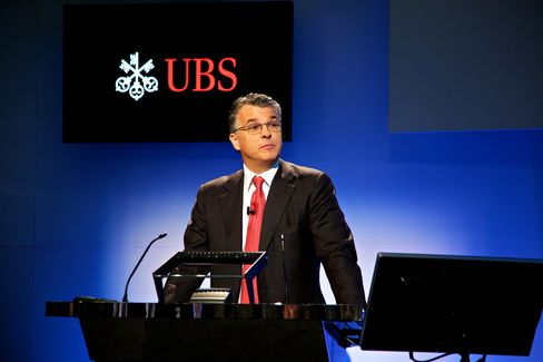 UBS AG  Chief Executive Officer Sergio Ermotti