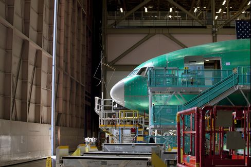 Boeing Co. 777 Aircraft Production