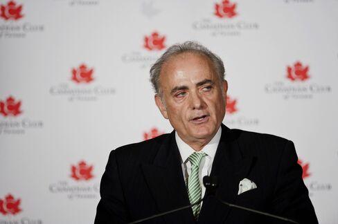 Air Canada CEO Calin Roinescu