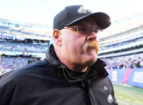 Philadelphia Eagles' Coach Andy Reid