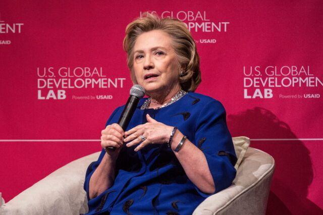 Hillary Clinton, not really keepin' it real.