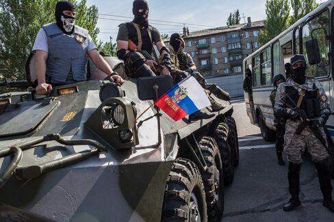 Pro-Russia militia in Ukraine