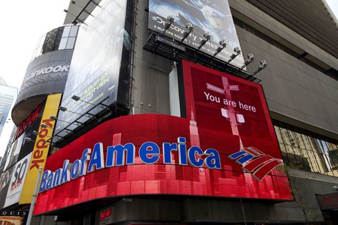BofA Credit Downgraded by Moody's on Waning U.S. Support