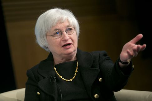 Fed's Yellen Urges Higher Bank Capital Rather Than Size Limits
