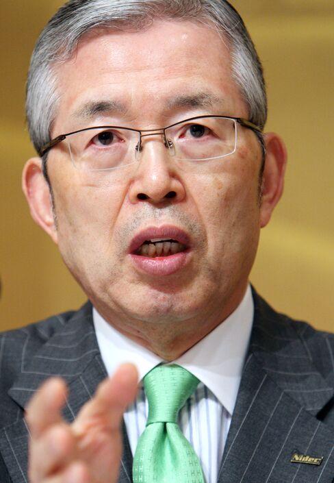 Nidec Corp. President Shigenobu Nagamori