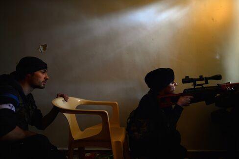 Syria Rebels Threaten Sectarian Revenge If Key City Falls
