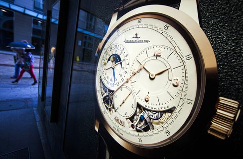Richemont Five-Month Sales Increase on Strengthening Dollar