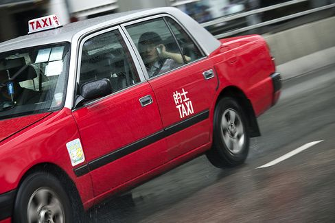 Investors Turn Hong Kong's Red Taxis Into New Bubble Market