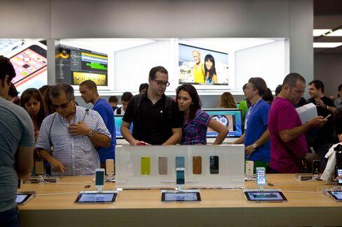 Apple Stocks Surge